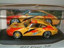 1/43 PORSCHE 911 CUP 1994 `SHELL PRESENTATION CAR ` .   MINICHAMPS