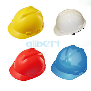 PE Safety Helmet Engineering Cap Construction Site Hard Hat Head Protection