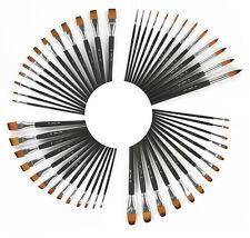 SOFT Künstlerpinsel Gr. 0-24, Sparsets, feines Nylonhaar, Acryl, Aquarell + Öl