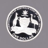 Matthew Flinders 4 coin MAP SHAPED Silver coloured set Bank of Uganda