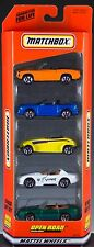 Matchbox Open Road 5 Pack Gift Set 1999 NEW in Box Exclusive Designs