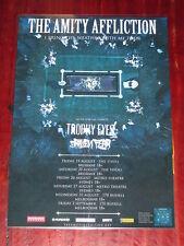 The Amity Affliction - 2016 Aug/Sep Australian Tour -  Promo Poster