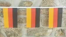 Germany Flag Polyester Bunting - Various Lengths