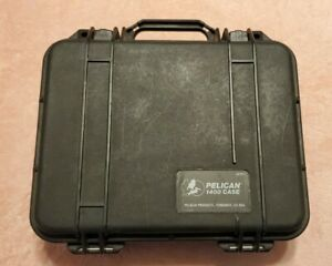 Pelican 1400 Case with Custom Convoluted Foam