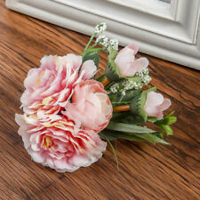 Rose Flower Hair Pin Clip Pin Hairband Brooch Bridal Wedding Party  Women Bride