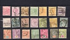 Ceylon. QV. 1867-1900. A collection of mostly used stamps