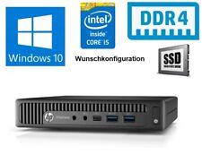 HP Elitedesk 800 G2 DM - Intel Core i5, WLAN, 4GB/8GB RAM, 128GB/256GB/512GB SSD