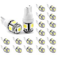 20Pcs T10 194 168 2825 5 x 5050 SMD LED White Super Bright Car Lights Lamp Bulb