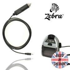 Zebra AK18356-2 Cigarette Socket Car Charger Adapter Barcode Printer MZ220/MZ320