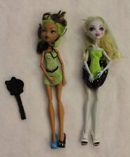 Monster High Barbie Dolls Lot of Two & Brush Clothes Shoes