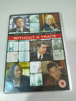 SIN RASTRO WITHOUT A TRACE PRIMERA TEMPORADA 1 COMPLETA 4 DVD ESPAÑOL ENGLISH AM