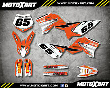 Custom graphics for KTM 65 2009 - 2015 SHOCKWAVE Style full sticker kit