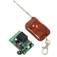 DC 12V 1 channel Relay Module & Remote Control RF Realy Transmitter & Receiver