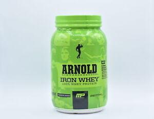 Arnold Schwarzenegger Protein Powder Strawberry Banana 32oz EXP:11/22