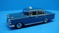 Mercedes Benz 200 Diesel Taxi scale 1:43 diecast car for collectors blue color