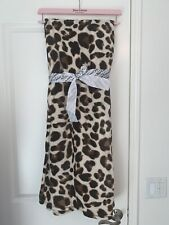 Juicy Couture Throw/Blanket 50� X 70� Leopard ~New~