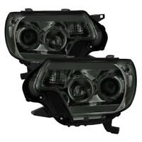 Spyder LED Projector Headlights Set for 2012-2015 Toyota Tacoma Chrome 5081728