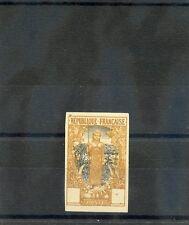 FRENCH CONGO Sc 46(YT 38)(*)VF NGAI, 1900 PROOF, BAKALOIS DESIGN, BLACK/OCHRE --