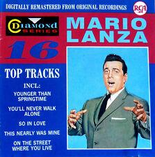 """Mario LANZA CD, RCA Diamond Series 16 Top tracks,,, rarità"""""""