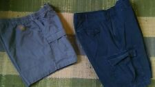 MEN'S SHORTS SIZE 40 (LOT OF 2) CABELA'S & URBAN UP BLUE & GRAY SOLID