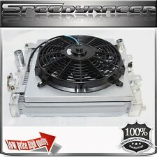 Performance Aluminum Radiator w/Fan & Shroud for 92-00 Civic 93-97 Del sol Auto