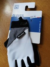 SANTINI SUMMER GLOVES / MITTS WITH GEL SMALL WHITE