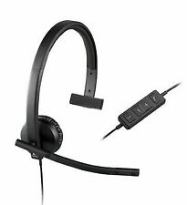 #research Logitech USB Headset H570e Mono