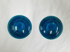 # 11 GAMEWELL FIRE ALARM POLICE CALL BOX GLASS LENSES ST LOUIS PEDESTAL BLUE