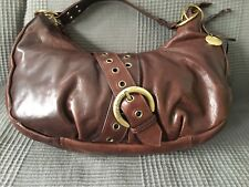 Suzy Smith Women Lovely Genuine Leather Brown Shoulder Medium Bag Tote