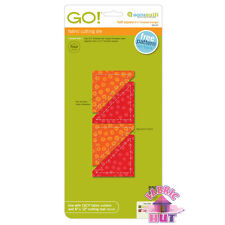 Accuquilt GO! Fabric Cutter Die Half Square 2.25 inch Quilting Sewing Tool 55147