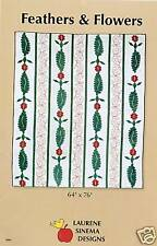 Quilting: Feathers & Flowers-Laurene Sinema-Ret. $8.99
