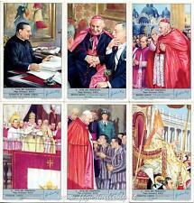 Chromo Liebig Sang. 1824 ITA Vita dei Pontefici: Papa Giovanni XXIII ANNO 1967