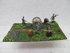 MES-39572 1:72 Artillerie-Stellung Minidiorama bemalt,