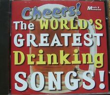 CHEERS ~ THE WORLDS GREATEST DRINKING SONGS CD DEANNA DURBIN,SPIKE JONES + MORE