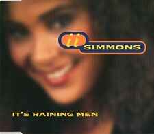 II SIMMONS - It's raining men CDM 4TR 1995 EURODANCE RARE!
