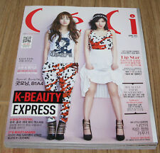 CECI 4MINUTE GIRL'S DAY ORANGE CARAMEL KOREA MAGAZINE 2014 APRIL APR NEW