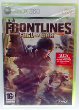 FRONTLINES FUEL OF WAR XBOX 360 EUROPEAN SEALED BRAND NEW
