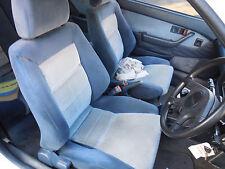 1988 Honda Integra 1 x Pair Of Front Bucket Seats S/N# V6977 BJ5367