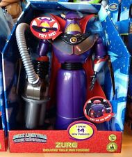 Disney Store Emperor Zurg Talking Action Figure 15'' Toy Story 14 Phrases NIB