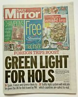 *LIVERPOOL FC / EPL CHAMPIONS PULLOUT SPECIAL UK DAILY MIRROR NEWSPAPER 27/6/20*
