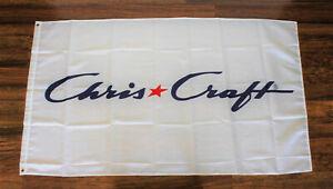 New Chris Craft Boats Banner Flag Boat Racing Boating Advertising Marina Yacht