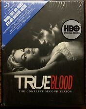 TRUE BLOOD HBO'S COMPLETE SEASON 2 BLU-RAY DVD BOX SET SECOND YEAR MINT