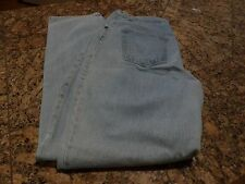 """Natural Reflections Size 18 Loose Fit Light Wash Jeans Inseam 34"""" 100%Cotton"""