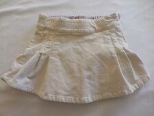 Gap Kids Stretch Cream Brushed Velvet Skirt/Skort, 5R