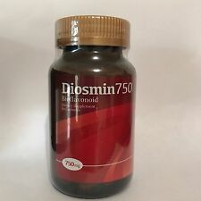 Diosmin 750 Bioflavonoid Beautiful Legs 60 Veggie Capsules (LOT OF 4 BOTTLES)