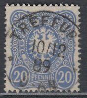31362) TREFFURT Kr. Eisenach Thüringen Stempel 1889 auf Mi.-Nr. 42