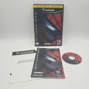 Spider-Man (Nintendo GameCube, 2002) Complete w/ Manual