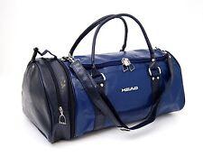 Cabeza Monte Carlo imitación de cuero bolsa de viaje en el color del dril de algodón