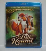 The Fox & the Hound/The Fox & the Hound 2-2 Movie Collection (Blu-Ray) FREE SHIP