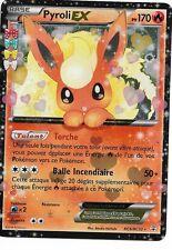 1 Carte Pokémon PYROLI EX (RC6/RC32)  PV 170 Ultra Rare  XY - GENERATIONS